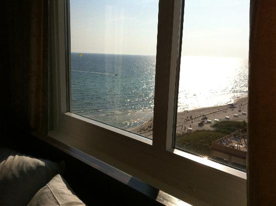 Wyndham Vacation Resorts Panama City Beach: The view from the smaller bedroom