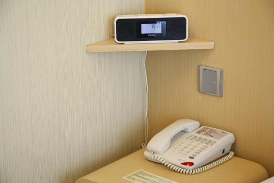 Hotel Benito: Alarm Clock and Phone 
