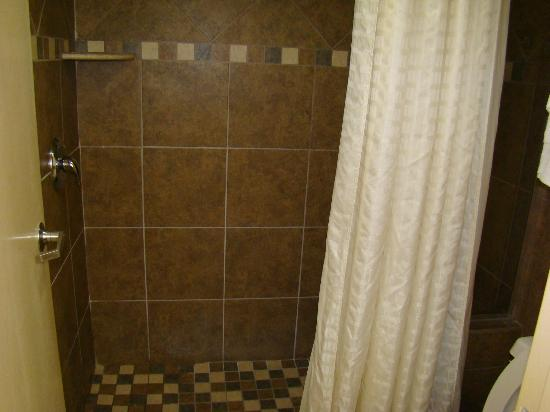 Old Creek Lodge: tile shower