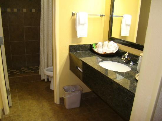 Old Creek Lodge: clean bathroom!