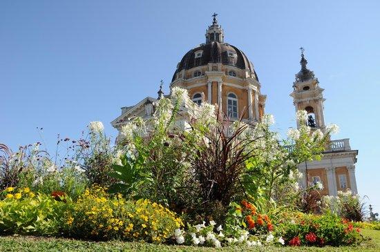 Turijn, Italië: Basilica di Superga - Agosto 2012