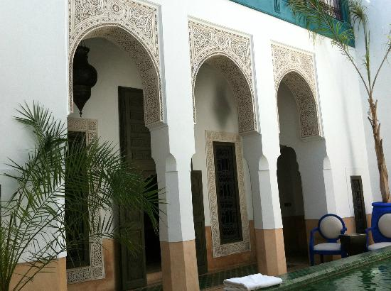 Riad Farnatchi: Jaw-dropping beautiful courtyard