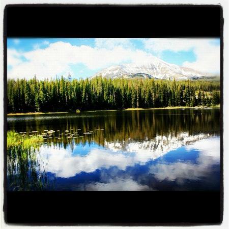 Moonlight Basin Resort: Fly fishing at Moonlight Basin Montana Resort by Yellowstone National Park