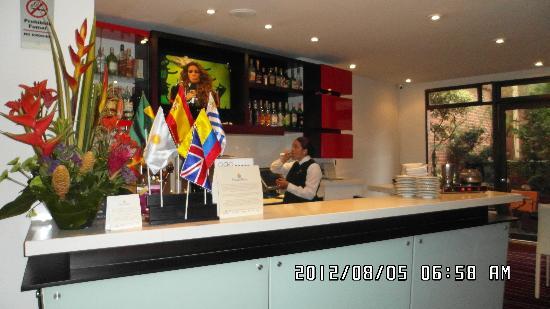 NH Bogota Boheme Royal: Hall del Hotel