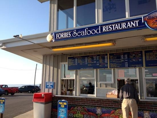 Forbes Seafood Restaurant Take Out Beach Food