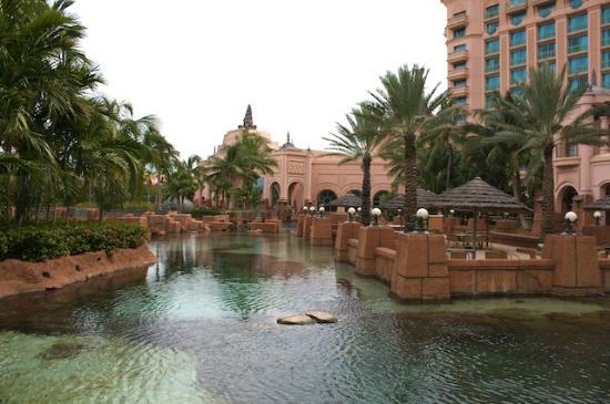 Atlantis - Harborside Resort: Outside dining