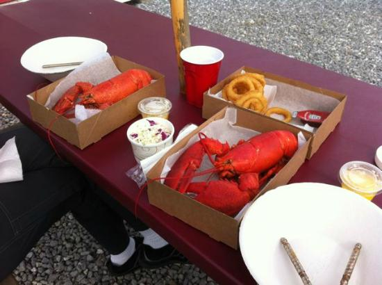 Erica's Seafood: The food