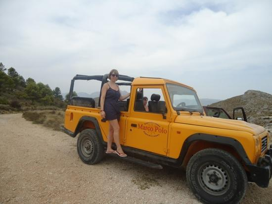 Marco Polo Expediciones - Day Tours: me on the jeep :-)