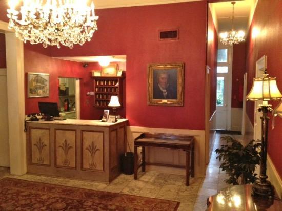 Andrew Jackson Hotel: Hotel Lobby