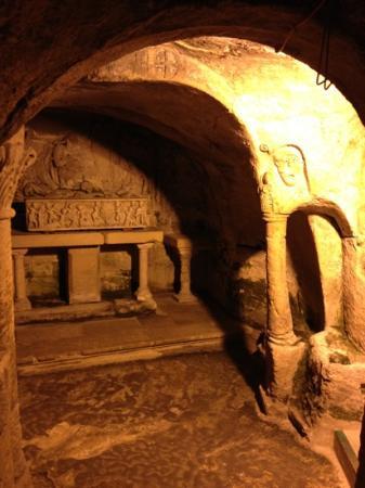 Abbaye Saint Victor : cripta