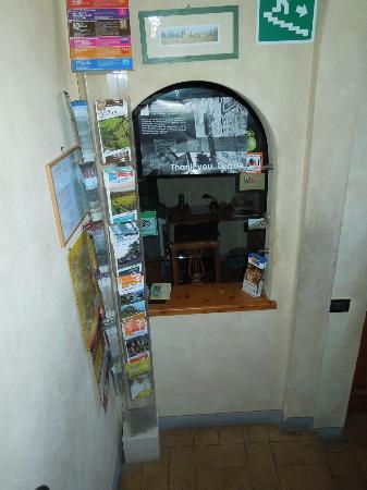Palazzo al Torrione: la reception