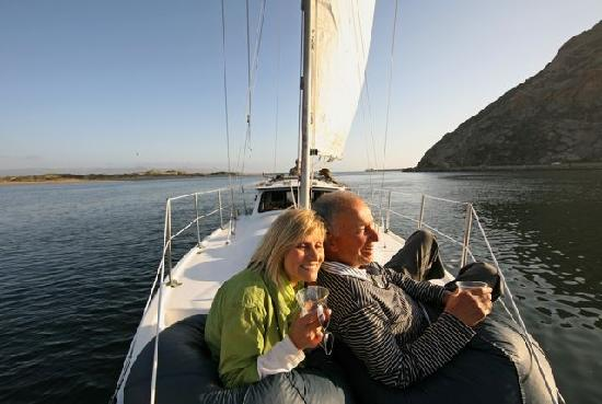 Red Anchor Charters: Relax with a loved one as you cruise Morro Bay's beautiful harbor