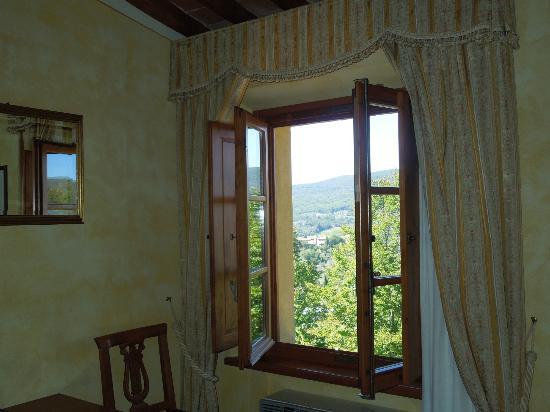 Palazzo al Torrione: bellissima vista dalla finestra della camera!
