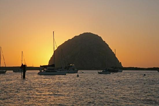 Red Anchor Charters: Take in a picturesque sunset over the famed Morro Rock
