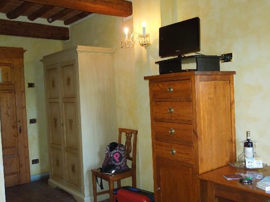 Palazzo al Torrione: ...e finalmente la camera!
