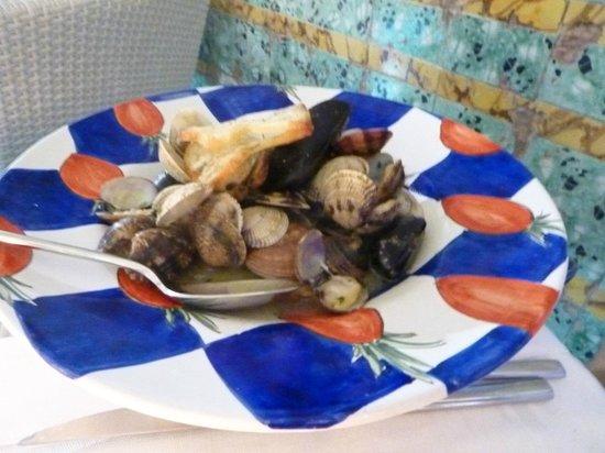 Ristorante Evu: Soute di frutti di mare