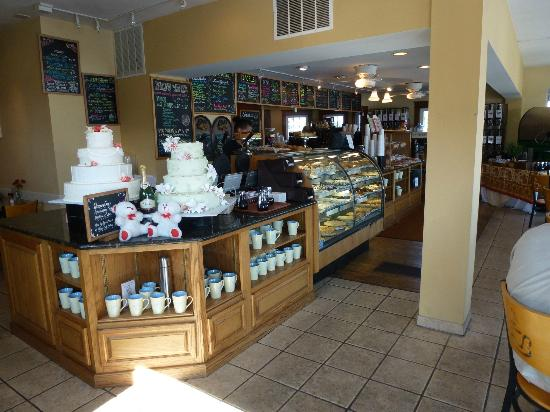The Point Coffee House and Bake Shoppe: Interior of The Point