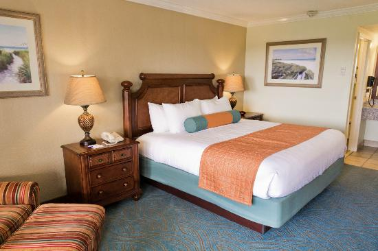 BEST WESTERN PLUS Siesta Key Gateway: 2 Room Executive Suite Bedroom