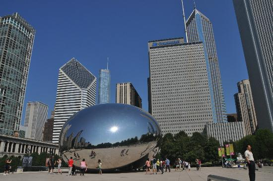 Cloud Gate: exterior