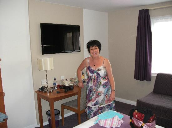Premier Inn Leeds City Centre Hotel: Modern clean rooms