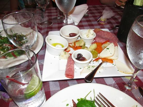 Frankie's Ristorante Italiano: antipasto