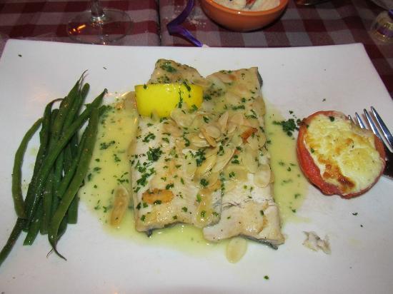 Frankie's Ristorante Italiano: trout almondine