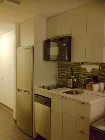 Room fridge, microwave, etc