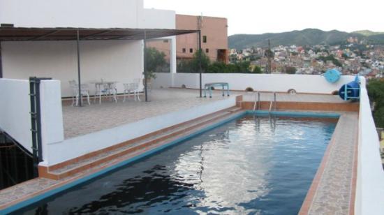 Casa Zuniga B&B: view from pool