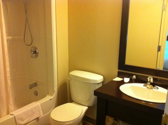 Hotel Kennedy: La salle de bain