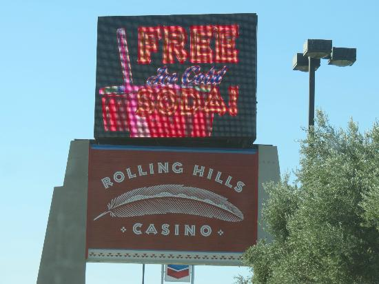 The Inn at Rolling Hills: Sign of the Casino