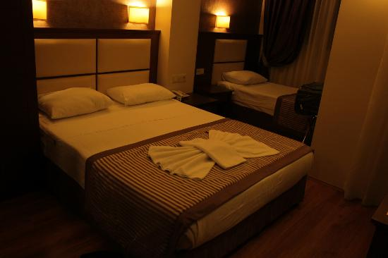 Aristocrat Hotel: 2+1 room