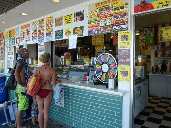 The Ice Cream Ordering Window At