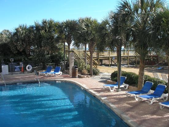 Pool area picture of monterey bay suites myrtle beach for Pool show monterey