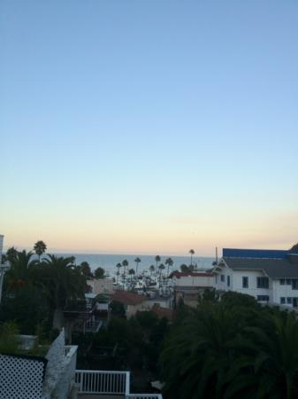Catalina Boat House: Great view from the Balcony