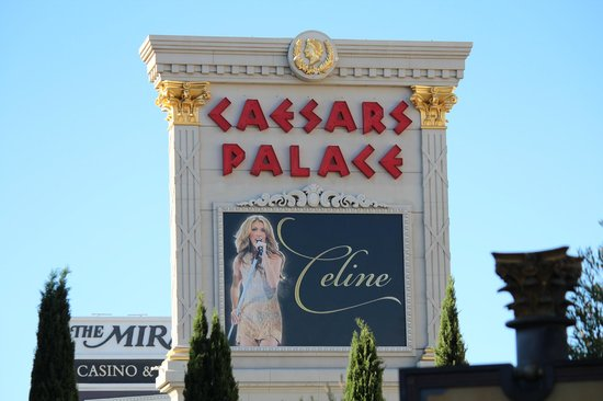 Celine Dion at the Colosseum at Caesars Palace