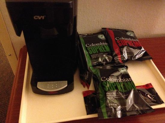 The Loyal Inn: Coffee machine & 'pods'