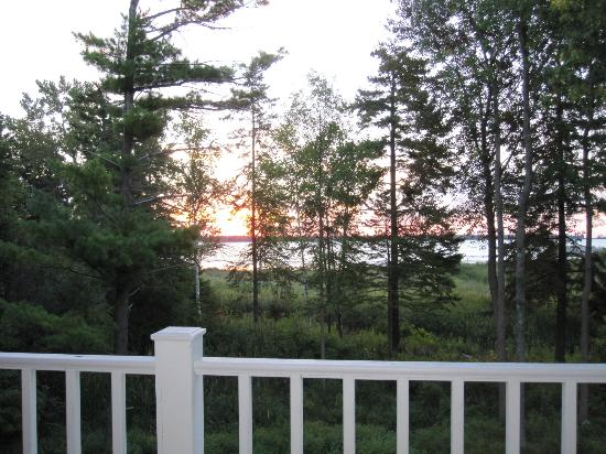 Blacksmith Inn On the Shore: View from Room 13 deck