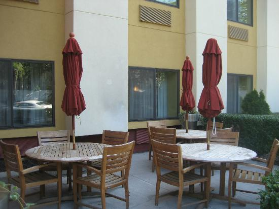 TownePlace Suites Albany Downtown/Medical Center: patio