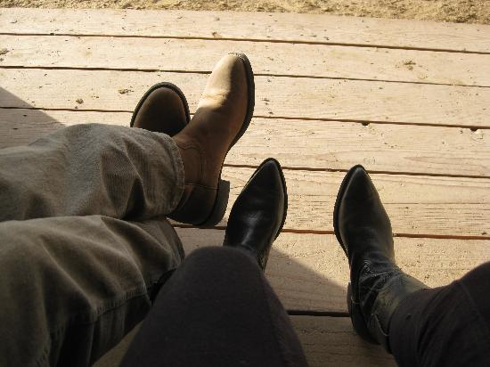 Tanque Verde Ranch: These boots are made for riding