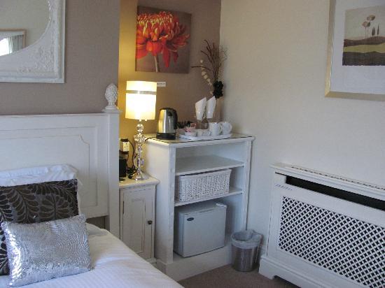 The Bath House: Hospitality corner