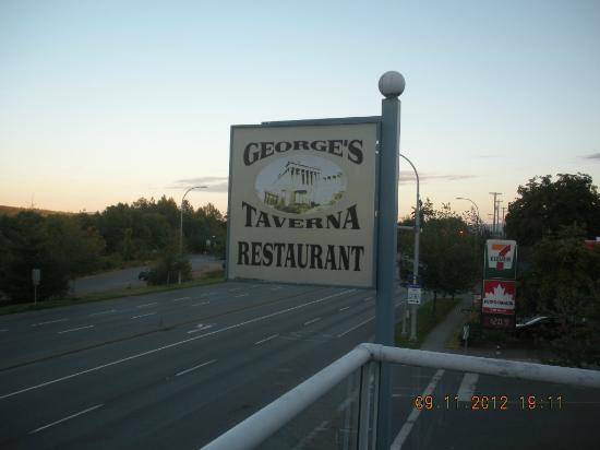 George's Tavern: External Sign