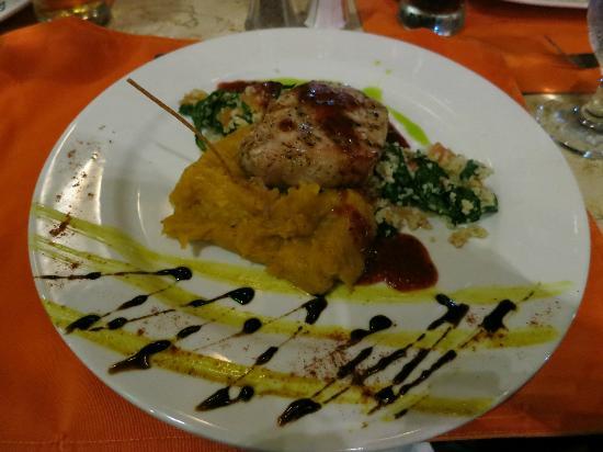Rio Celeste Hideaway Hotel: pork loin