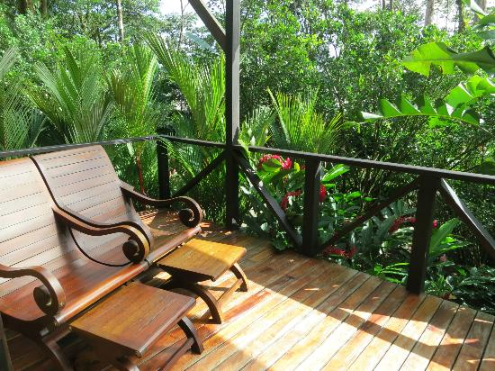 Rio Celeste Hideaway Hotel: pic of the balcony