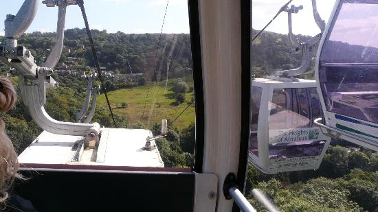 Alison House Hotel : Cable car to Abrahams Heights