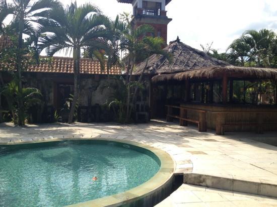 Fare Ti'i  (Villa Ti'i Bali): cool poolside bar