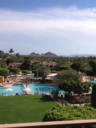 The Phoenician, Scottsdale: view from our room.