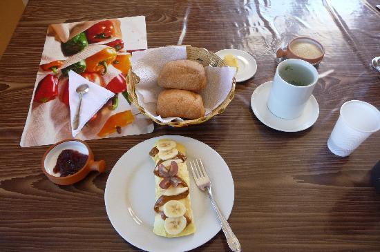 Akilpo Hostal: desayuno