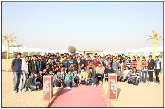 Mehar Adventure Safari Camp : Student group.