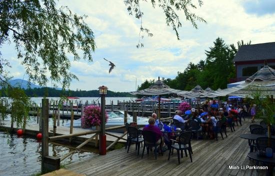 Algonquin Restaurant: breezy August afternoon