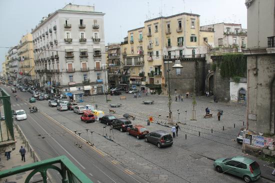 Donna Adelina : Piazza Nolana, view from the balcony